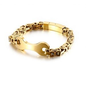 spanner stainless steel bracelet