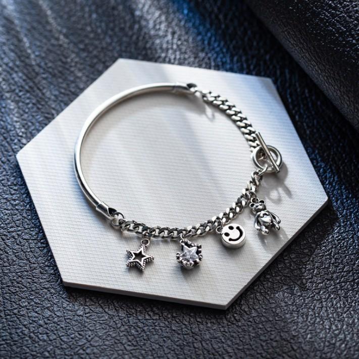 925 silver charm bracelet wholesales