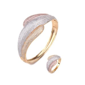 zircon jewelry hinged bracelet rings wholesales from china