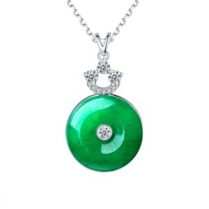 cubic zirconia necklaces wholesales from china jewelry factory