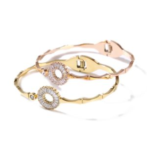stainless steel jewelry spring bangle wholesale