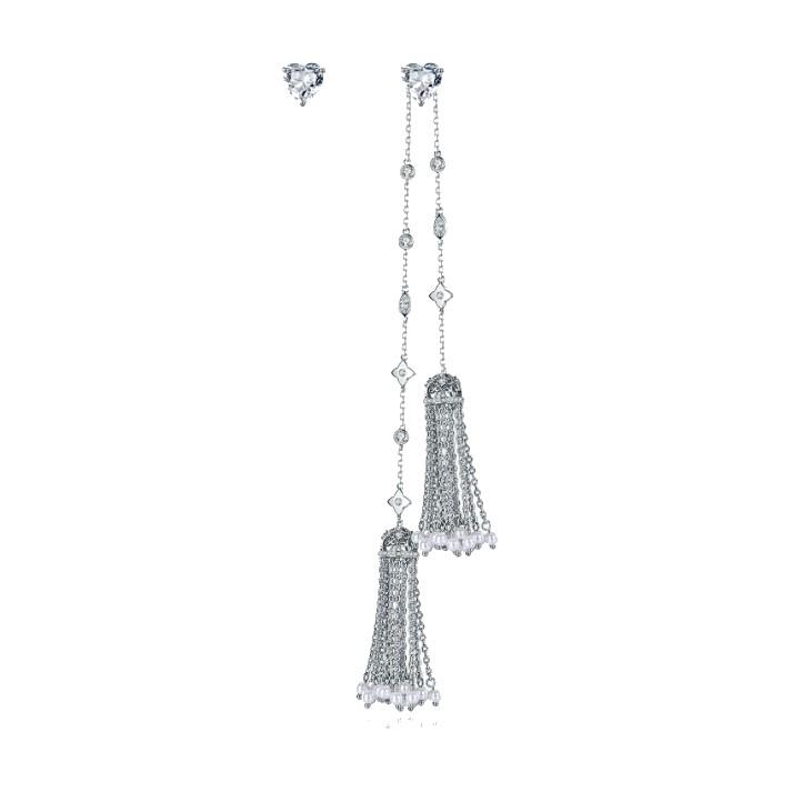 crystal jewelry tassel earrings wholesales