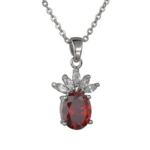 cubic zirconia necklace wholesales from china jewelry manufacturer