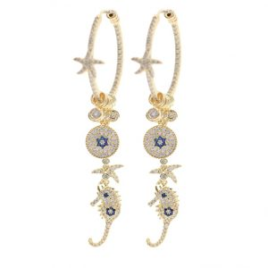 crystal diamond earrings wholesales from china jewelry factory