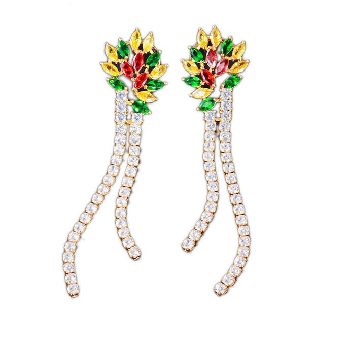 diamonds wedding jewelry earrings wholesales from China factory