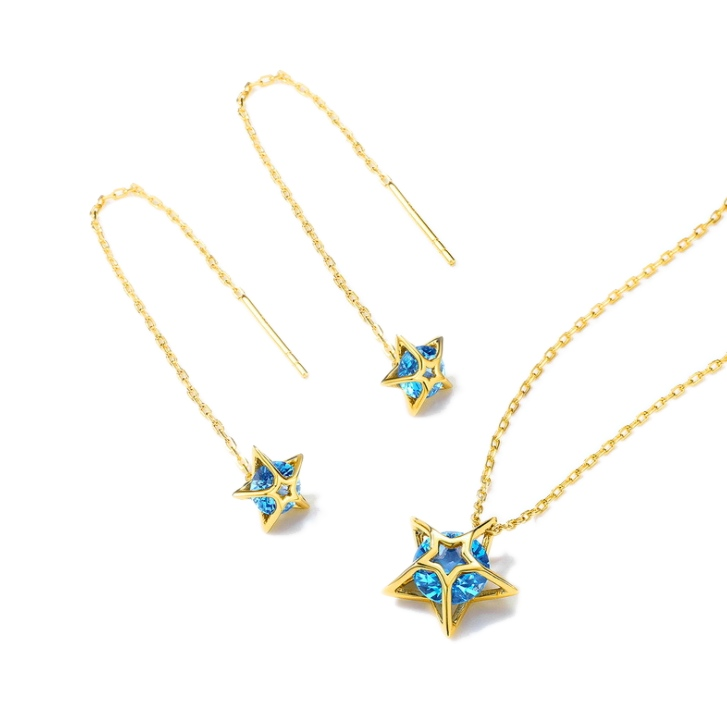 925 silver necklace earrings set wholesales from china jewelry factory