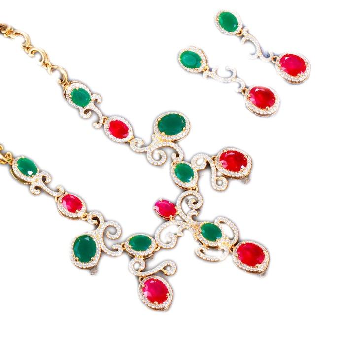 diamonds wedding jewelry sets wholesales from China factory