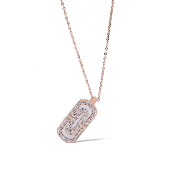 titanium steel jewelry necklaces wholesales from China factory