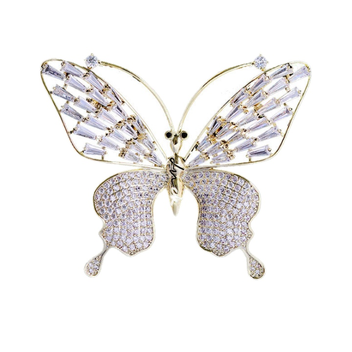 cubic zirconia brooch wholesales from CHINA CZ Jewelry Factory