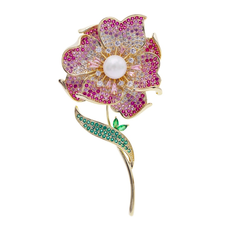 crystal diamonds brooch pins wholesale from China jewelry factory
