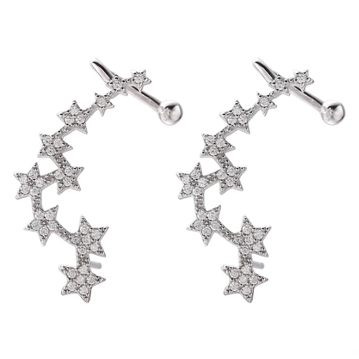 925 sterling silver earrings wholesales from China jewelry factory