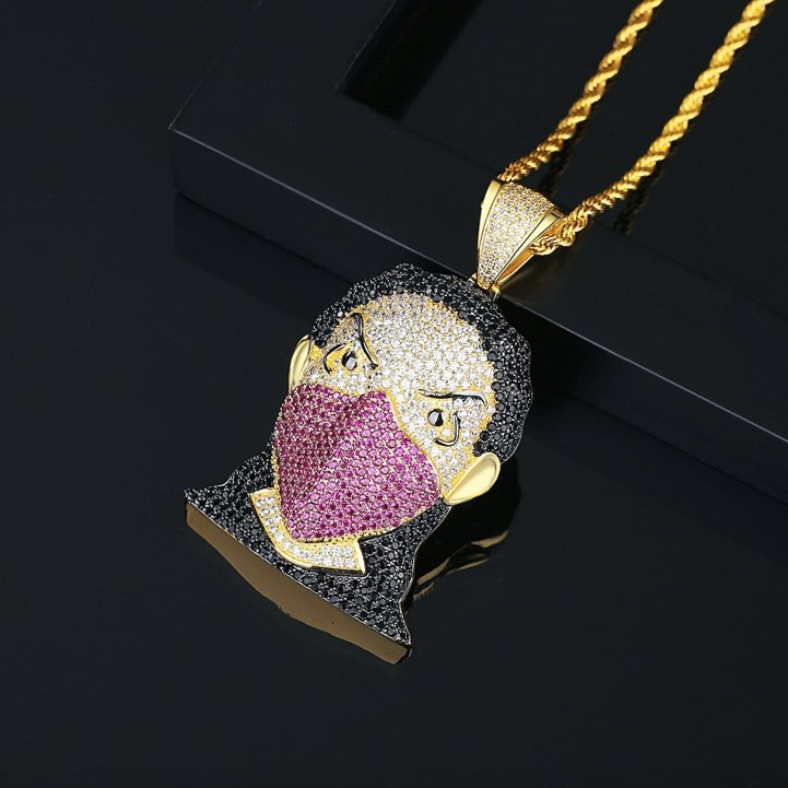 hip hop crystal jewelry wholesales from China factory