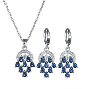 crystal jewelry set wholesales from CHINA MANUFACTURER