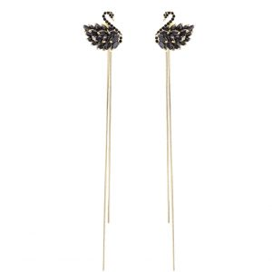 cubic zirconia earrings wholesales from China jewellery manufacturer