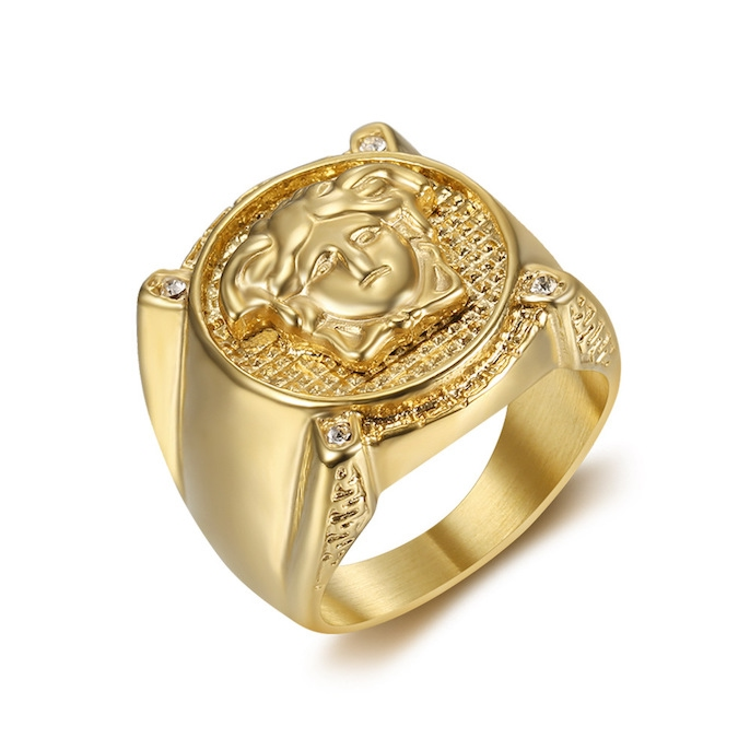 men's rings wholesale from China stainless steel jewelry factory