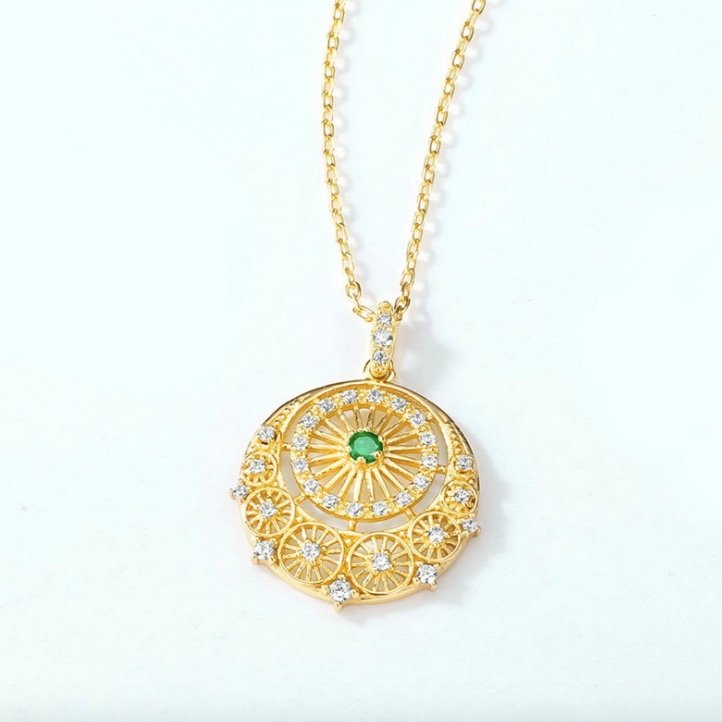 925 sterling silver pendant necklace wholesales from China jewelry manufacturer