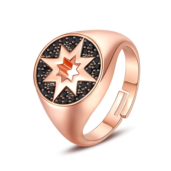 crystal hiphop rings wholesale from China cz jewelry factory