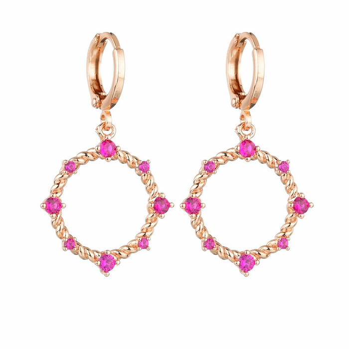 crystal earrings wholesales from China luxury jewelry factory