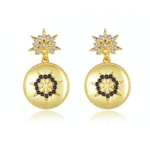 crystal earrings wholesales from CHINA CZ Jewelry factory
