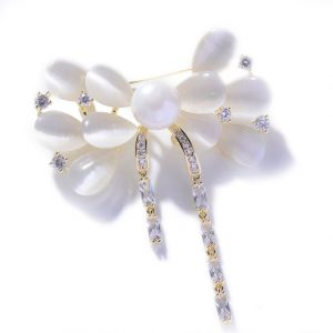 crystal brooch wholesales from China cz jewelry factory