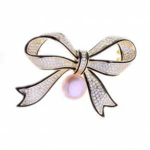 crystal brooches wholesale from China zircon jewelry factory