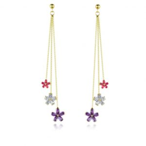 crystal earrings wholesales from China jewelry manufacturer