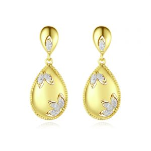 crystals earrings wholesales from China jewelry factory