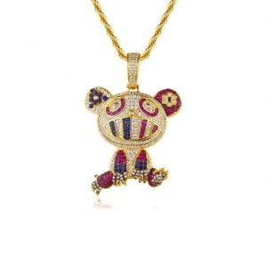 hiphop pendant necklace wholesales from China jewelry factory