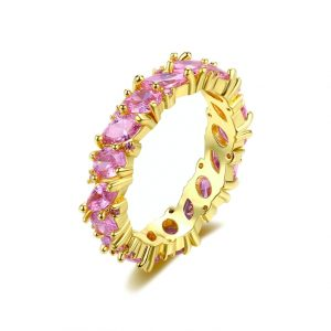 crystal rings wholesale from China jewelry factory