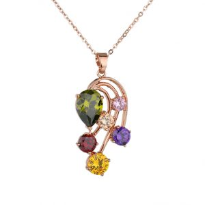 crystal necklace wholesales from China manufacturer